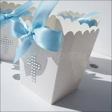 baptism favor boxes baptism communion peters party