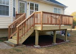 Deck Stair Handrail Barefoot Decks Deck Pictures Screen Room Pictures