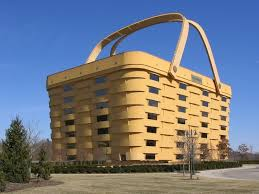 wood company longaberger s basket building is made of locally sourced