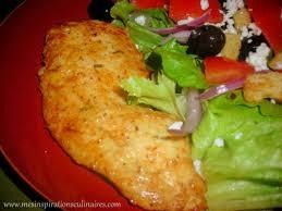 comment cuisiner des escalopes de poulet escalopes de poulet grillées au yaourt le cuisine de samar