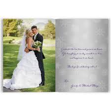 wedding thank you card photo wedding thank you card purple silver white