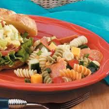 pepperoni pasta salad recipe taste of home