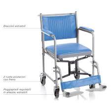 sedia ginecologica sedia comoda pieghevole con 4 ruote sedie da comodo sanort