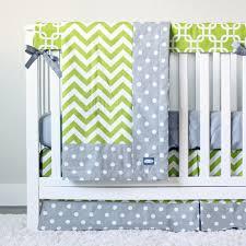 Grey And Green Crib Bedding Crib Bedding Lime Green And Grey Baby Boy Crib Set Giggle Six Baby