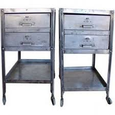 steel nightstands foter