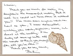 personal thank you letters everyday details nh event planner
