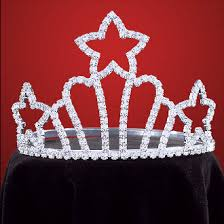rodeo crowns shooting rhinestone cowboy hat tiara usa made