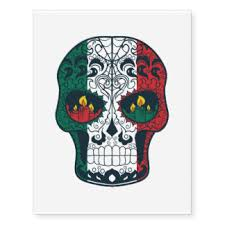 mexican flag temporary tattoos zazzle