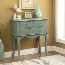 Hallway Table With Drawers Furniture Of America Eloisa Vintage Style 3 Drawer Hallway Table