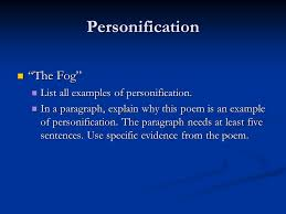 personification how do i determine the appropriate meaning of