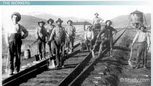 transcontinental railroad construction history u0026 impact video