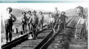 transcontinental railroad construction history u0026 impact video