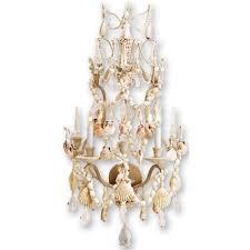 Seashell Light Fixtures 102 Best Seashell Chandelier Images On Pinterest Seashell