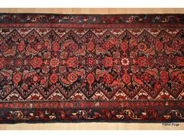 Hamadan Rugs On Sale For Only 1 250 Authentic Persian Hall Runner Red And