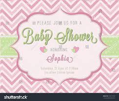 baby shower invitation stock vector 315917702 shutterstock