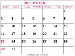 62 best 2016 oct calendar images on pinterest october calendar