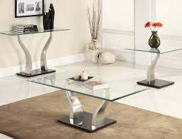 square glass end table excellent black glass end table tables round top chrome velecio