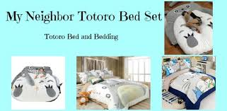 Giant Totoro Bed My Neighbor Totoro Bed Set Totoro Bed And Bedding