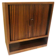 media cabinets for sale american mid century modern solid walnut tambour door media cabinet