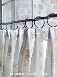 How To Hang Pottery Barn Curtains Best 25 Cafe Curtains Ideas On Pinterest Cafe Curtains Kitchen