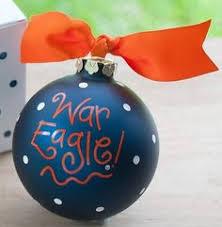 toomers corner auburn christmas ornament by doodlebugsga on etsy