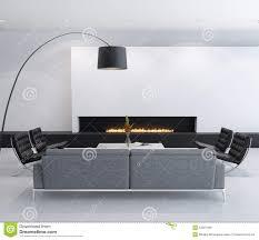 minimal contemporary elegant living room stock photos image