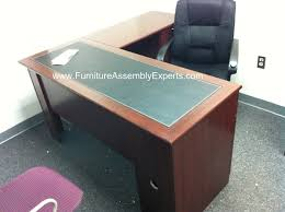 Realspace Magellan L Shaped Desk And Hutch 103 Best Office Furniture Assembly Contractors Dc Md Va Images
