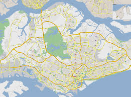 road map sle maps of singapore detailed map of singapore in tourist