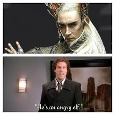 Angry Elf Meme - hobbit meme hashtag images on tumblr gramunion tumblr explorer