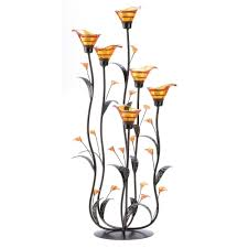 Calla Lily Home Decor by Amazon Com Gifts U0026 Decor Amber Calla Lily Flower Bunch Tealight