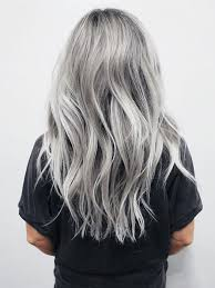 silver hair trendy silver hair color hairstyles 2017 2018 fall winter