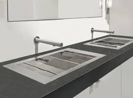 The Only Authentic FlushMount Sink Abode - Flush mount kitchen sink