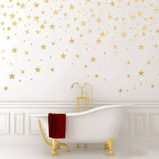 Cheap Wall Decals For Nursery 130pieces Package Wall Sticker Gold Decals
