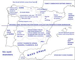World Map Spain by Stereotypes In Spain Maps Pinterest