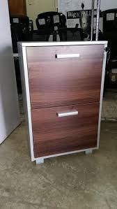 Walnut Filing Cabinet 2 Drawer by Workpro Modoffice Outlet Pedestal File With Lock 2 Drawers 29