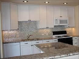 Kitchen  Grey Backsplash Red Tiles For Kitchen Backsplash - Stainless tile backsplash