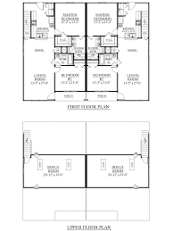 2 story ranch house plans house plan houseplans biz house plan d1526 a duplex 1526 a 2
