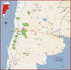 Map Chile Chile U0026 Argentina Wine Tour Features 10 Days 09 Nights Including