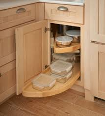 Base Blind Corner W Wood Lazy Susan Ill Need One Of These - Lazy susan kitchen base cabinet