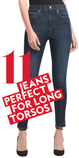 haircut for long torso the best jeans for women with long torsos instyle com