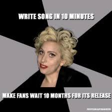 Lady Gaga Memes - lady gaga memes image memes at relatably com