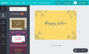 lohri invitation cards make custom lohri cards online for free with canva