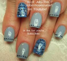 nail art design purple ombre nails ombre bling blue and silver