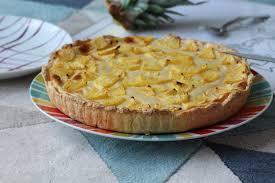 cuisiner l ananas tarte ananas noix de coco qui aime cuisiner aime mangerqui aime