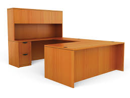 offices to go superior laminate 71 x 106 25 in u shaped desk w hutch