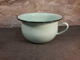 pot de chambre ancien ancien pot de chambre pot émaillé