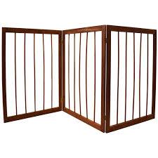 house additions 3 section folding pet gate u0026 reviews wayfair co uk