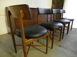 G Plan Dining Chair The Retrobarn Set Of Four Kofod Larsen Dining Chairs For G Plan