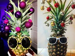 christmas tree pineapples are this year u0027s biggest trend insider
