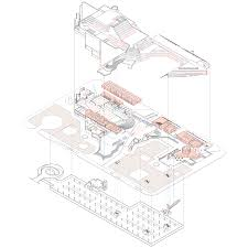 exploded floor plan hhf architects and sadar vuga to transform abandoned socialist